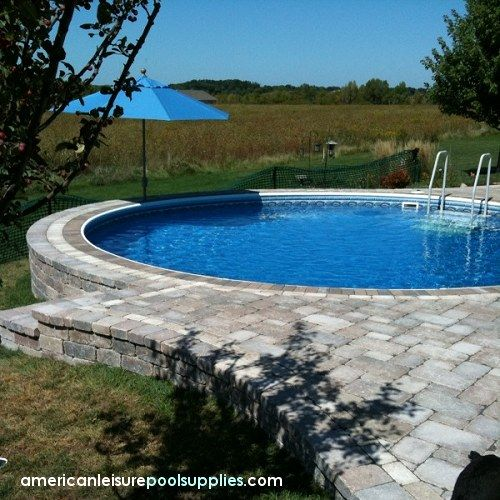 above ground swimming the ultimate above ground pool can be partially sunk in ground and. Interior Design Ideas. Home Design Ideas