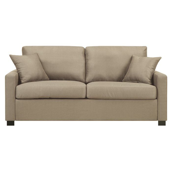 Awesome Featuring High Density Foam Cushions And Woven Polyester Upholstery, This  Loveseat Is A Soft And Stylish Seating Option For A Contemporary Living  Room. Great Pictures