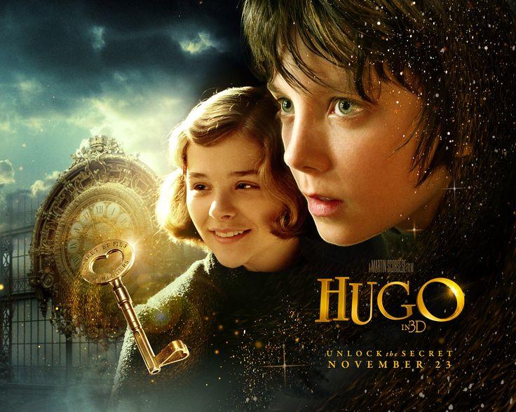 Hugo From The Book The Invention Of Hugo Cabret Filmes Filmes Legais Martin Scorsese