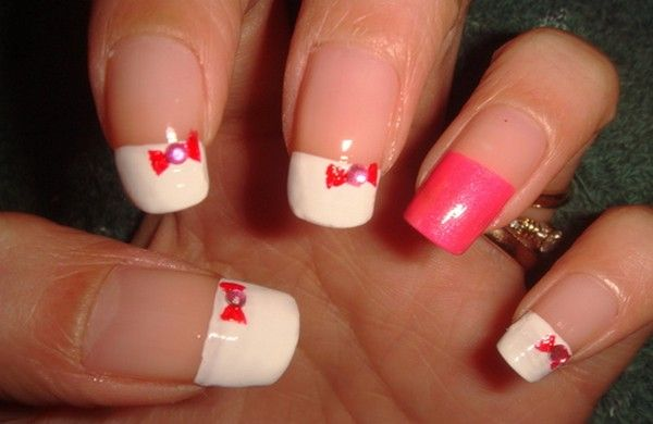 Hello Kitty Nail Art Images