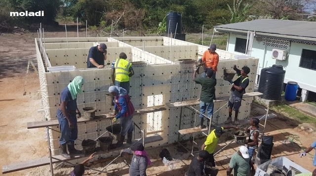 Construction Technology Moladi Plastic Formwork Low Cost Building System Affordable Housing Appropria Appropriate Technology Building Systems Technology