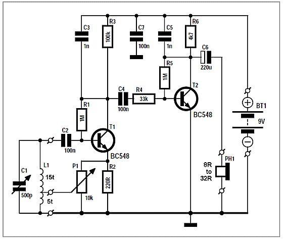 arduino esr meter schematic