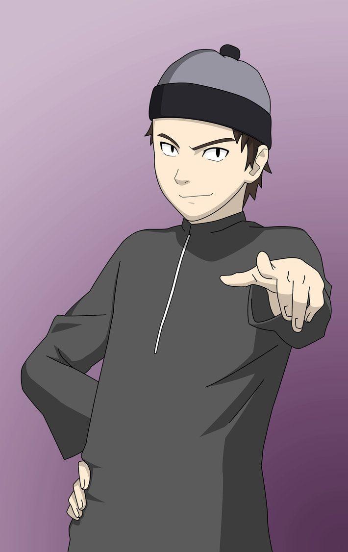 Kiba By Taj92 Deviantart Com On Deviantart Islamic Cartoon Anime Muslim 3d Character Animation