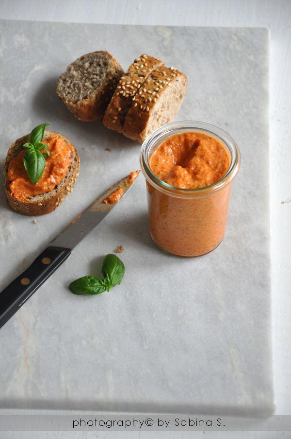 Due bionde in cucina: Pesto di peperoni alla griglia