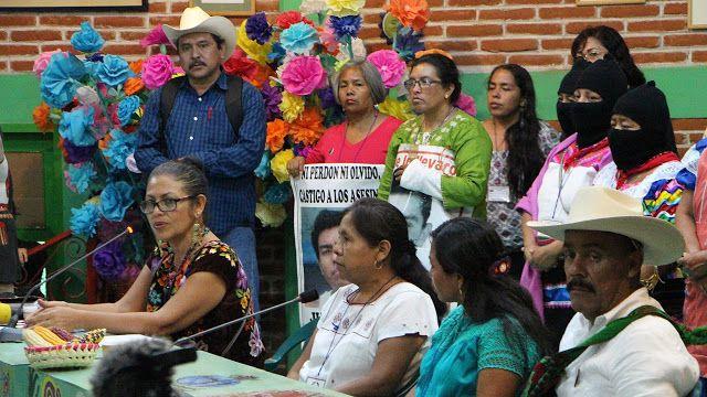 CNI ELIGIÓ A LA VOCERA DE LOS PUEBLOS INDÍGENAS, NO A UNA CANDIDATA A LA PRESIDENCIA