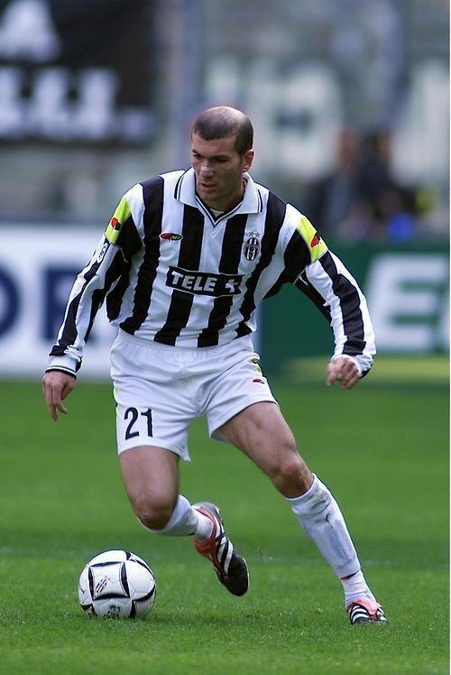 Zinedine Zidane à la Juventus Turin