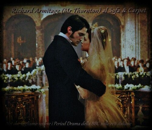 John Thornton and Margaret Hale The wedding day Richard Armitage fan art