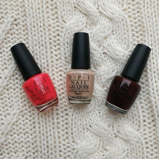 How does one stop buying nail polish?:see_no_evil::nail_care: ________________________________________ #icantstopbuyingmore #opi #opiobsessed #cajunshrimp #samoansand #guysandgalaxies #nailpolish #brightcoral #burgundy #nudenailpoliah #myperfectnude #nail