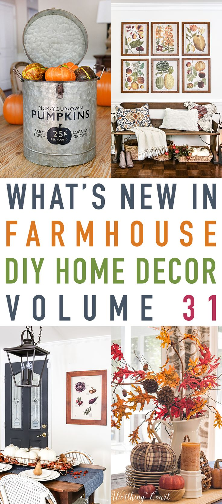 For all of the reader's here at The Cottage Market…I know that you are use to What's New In Fixer Upper Farmhouse Home Decor and don't worry…this is just a special edition…What's New in Farmhouse DIY Home Decor Projects Vol. 31. There were so many fun and fabulous Farmhouse DIYS this week I wanted to …