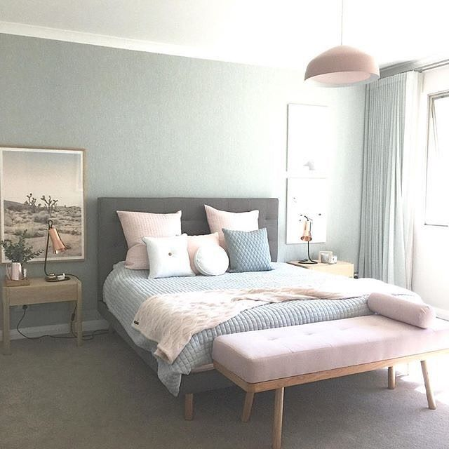 """574 Likes, 8 Comments - Home Styling (@sweetbliss_style) on Instagram: """"Dreamy bedroom envy!!! How gorgeous is this styling by @designdevotee #interior #interiors…"""""""