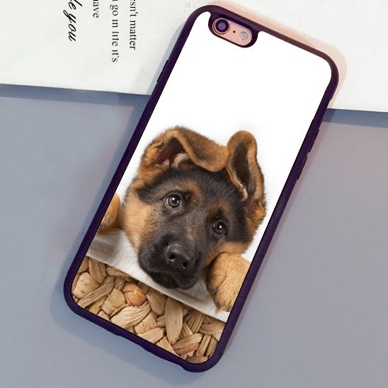 >> Click to Buy << German Shepherd Pup Puppy Dog Fitted Soft TPU Cell Phone Cases Bags For iPhone 7 7 Plus 6 6S Plus 5 5S 5C SE 4S Back Cover Shell #Affiliate