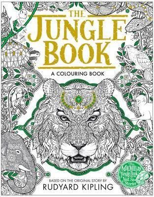 This Beautifully Produced Colouring Book Contains All Your Favourite Characters From Kiplings Classic Story