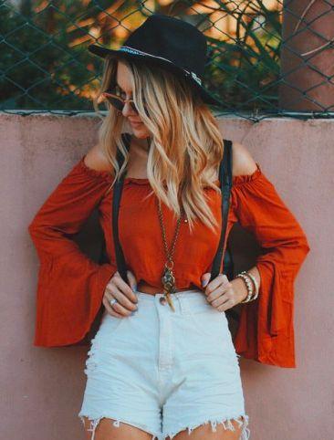 ╰☆╮Boho chic bohemian boho style hippy hippie chic bohème vibe gypsy fashion indie folk the 70s . ╰☆╮| Flare Sleeves