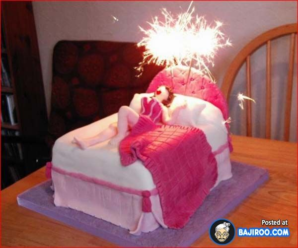 Funny Woman In Bed Birthday Cake Very Cakes 24 Images  cakepins.com