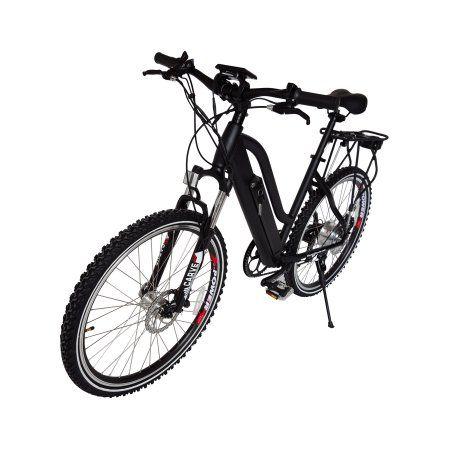 X-Treme Scooters Sedona 36 Volt Electric Mountain Bike-Black