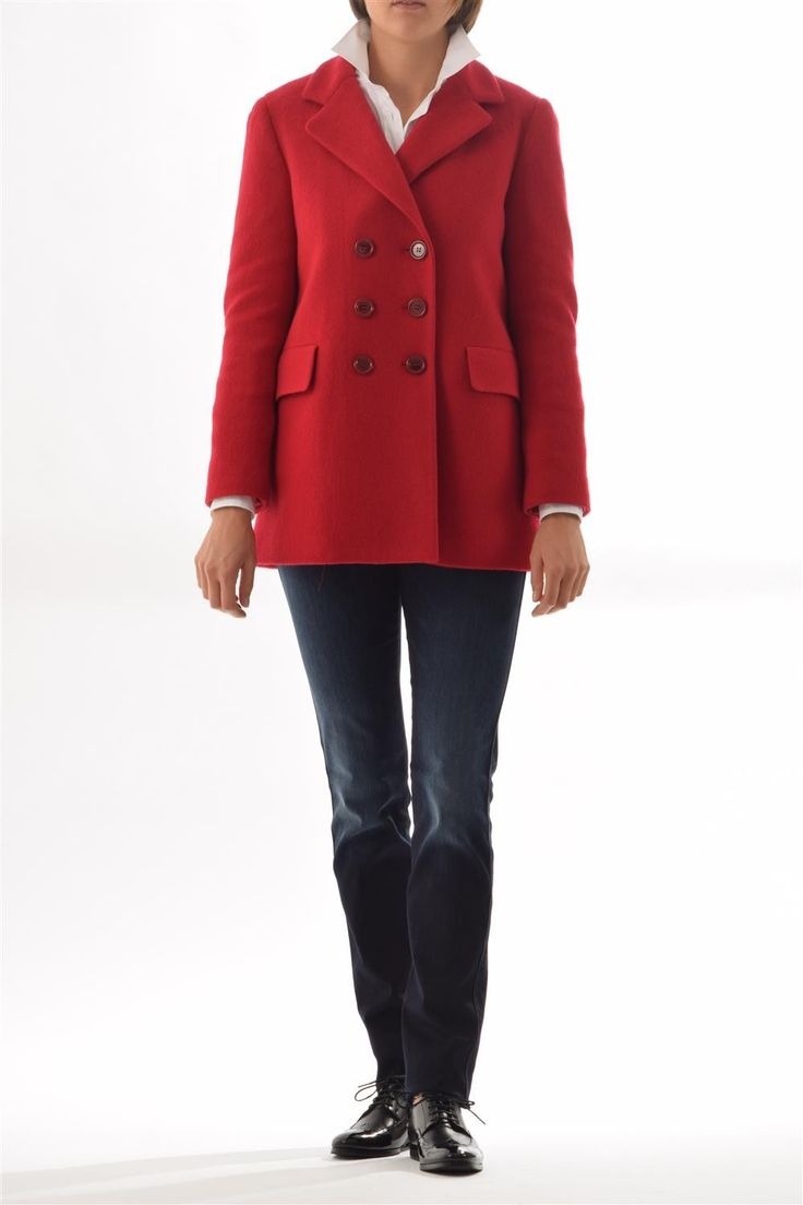 Boiledwool Coat with Thermore