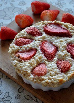 Breakfast's time!: pieczona owsianka truskawkowo-jogurtowa!