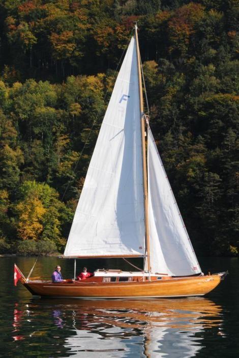 Stähli Internationales Folkeboot sailing, sailing boats