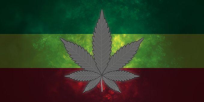 Marijuana, Cannabis, Rasta Flag