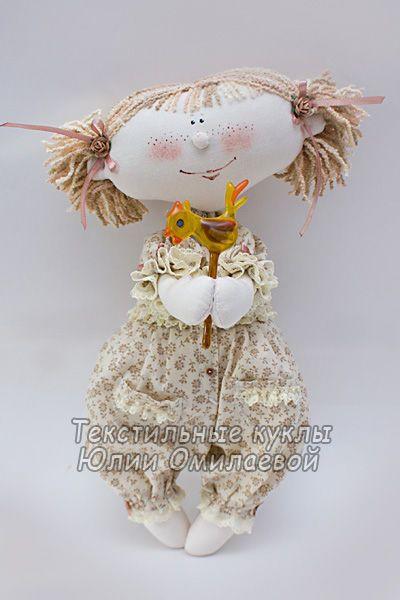 """Человечки ручной работы. Ярмарка Мастеров - ручная работа """"Петушок на палочке""""  (текстильная кукла). Handmade."""