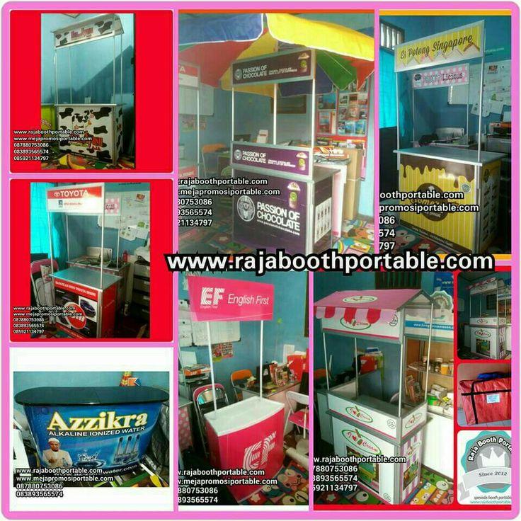 Booth portable cocok untuk usaha dan pameran. www.rajaboothportable.com