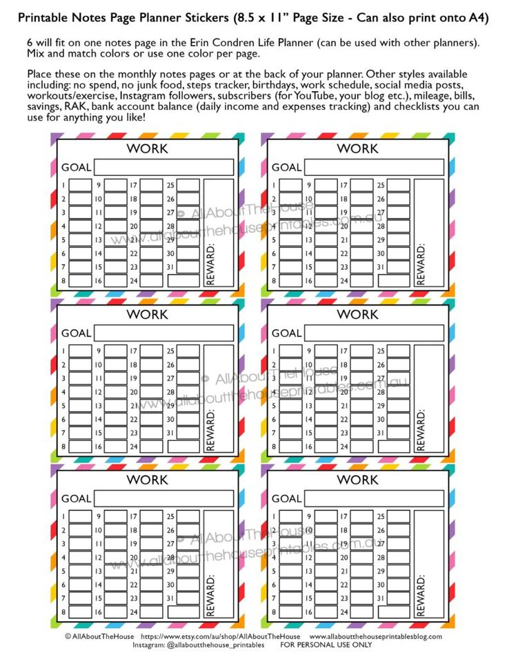 156 best Life Planner Ideas images on Pinterest Creative - fit note