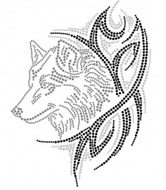 Wolf. Cool