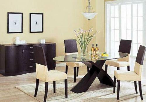 Круглые обеденные столы / Дизайн интерьера / Архимир