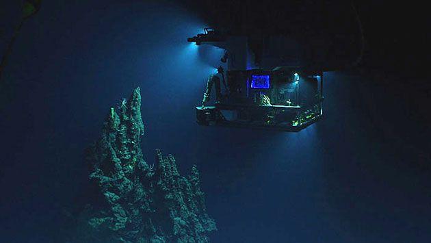 In  11 Kilometer Tiefe: Via Livestream täglich in den Marianengraben . . . http://www.grenzwissenschaft-aktuell.de/in-11-km-tiefe-livestream-mariannengraben20160504 . . . Abb.: NOAA