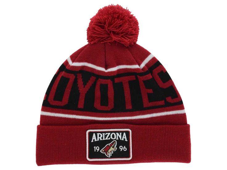 Arizona Coyotes Old Time Hockey NHL Juneau Pom Knit