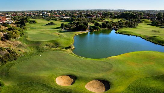 Enjoy 18 holes for two at a top 50 course, Secrets Golf! For only $89, this offer includes a shared motorised cart and a large bucket of range balls each. Enjoy a refreshing beer for each afterwards! Normally this offer is $218, buy now and you're saving 59%! #golf #golfwa