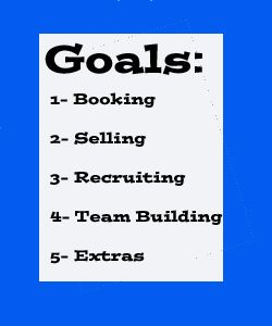 Your Direct Sales Business - Selling Goals & Tips