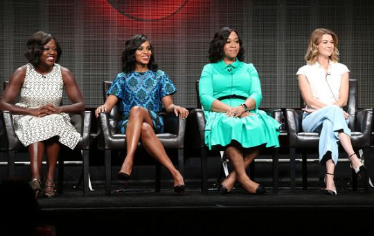 Kerry Washington and at the ABC TCA Summer Press Tour - #5candal August 4th, 2015