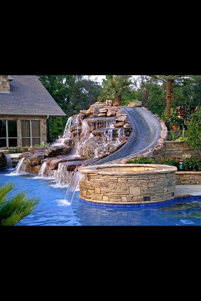 The perfect kid pool dream house pinterest awesome backyards and kid for Swimming pool meaning in dreams