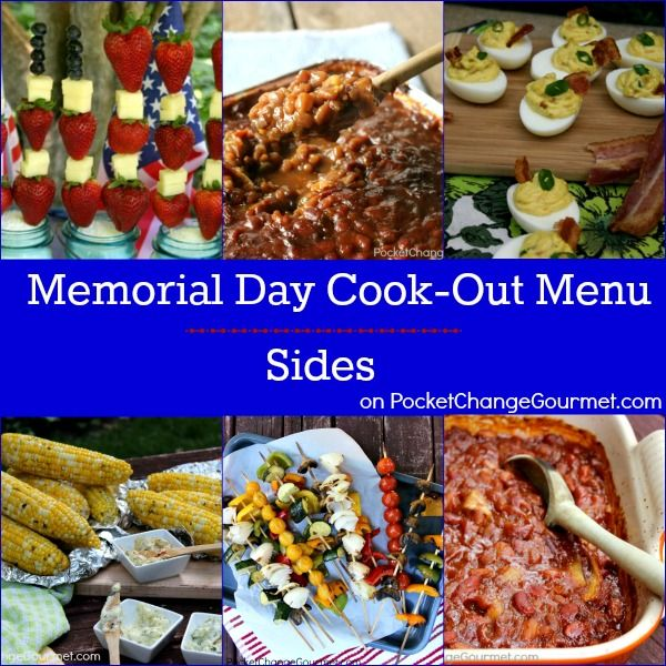 9 best memorial labor day cookout ideas images on for Side dish recipes for grilling out