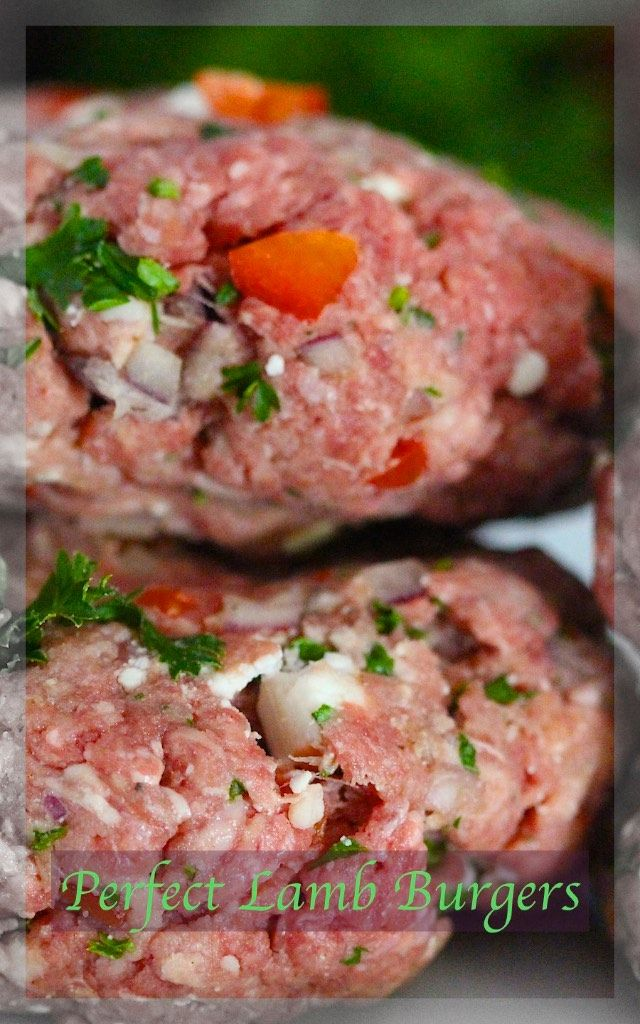 Perfect Lamb Burgers. Warm up the BBQ! Always a favourite around here.  www.bestillandeat.com