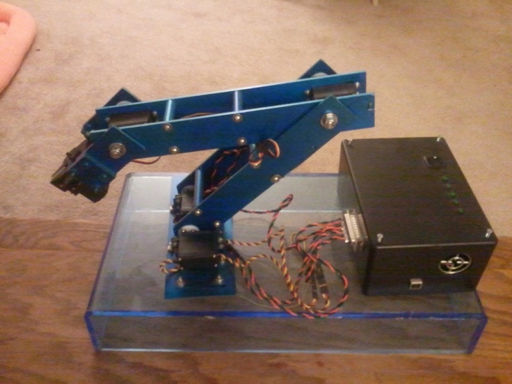Justin Dailey: Real-time Controlled Robotic Arm