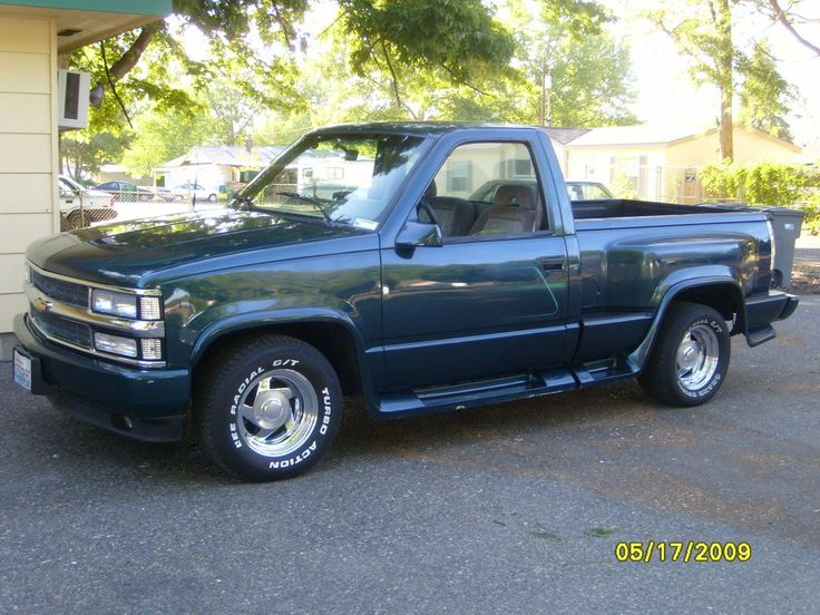 1994 chevy silverado | 1994 Chevrolet.. Since i will be getting rid of mine like this but red. I want another one in grey!!! I love old trucks!