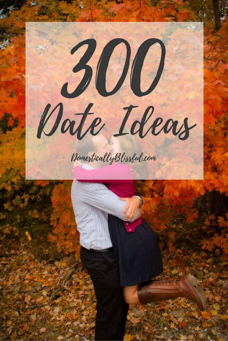 Wow! So many great date ideas for every season & occasion! Date Ideas to…