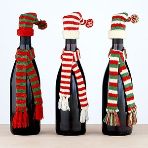 Dress your gifts in a bottle for the winter weather