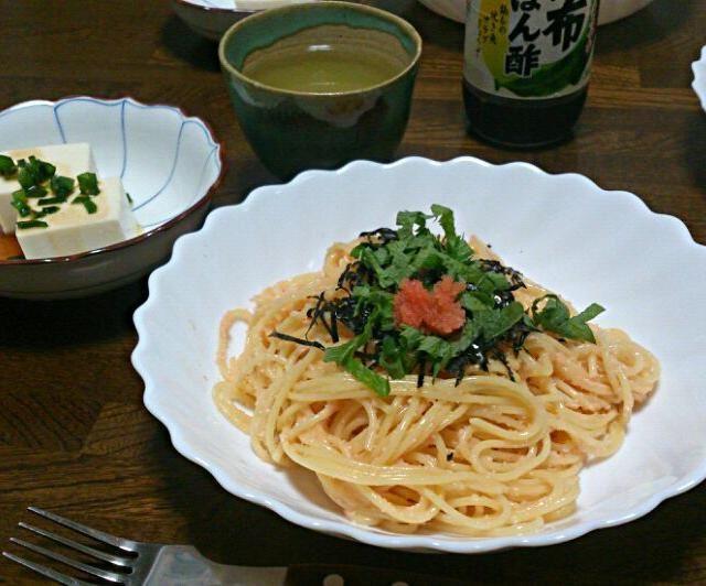 久しぶりにたらこスパゲッティ♪ もちろんいっぱいお代わりしちゃいます(๑><๑) - 47件のもぐもぐ - たらこスパゲッティ by sakachinmama