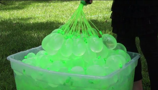 This Brilliant Invention Will Actually Fill 100 Water Balloons In Under A Minute.