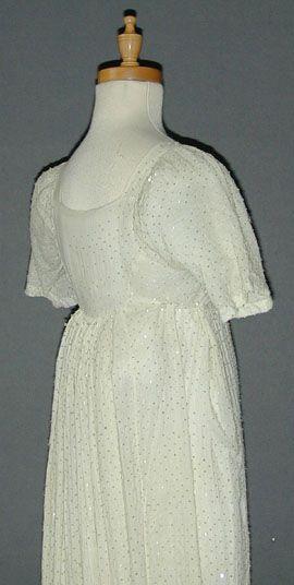 Rare Beaded Cotton c1804