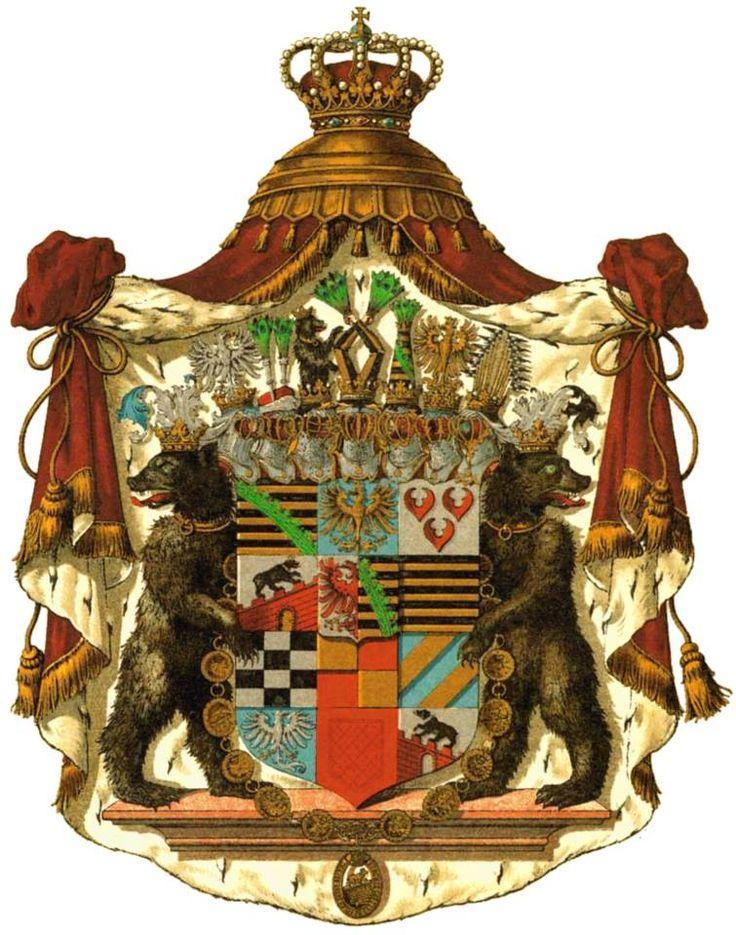 Almanach de Saxe Gotha - Online Royal Genealogical Reference : Almanach de Saxe Gotha - The Ducal House of Anhalt...