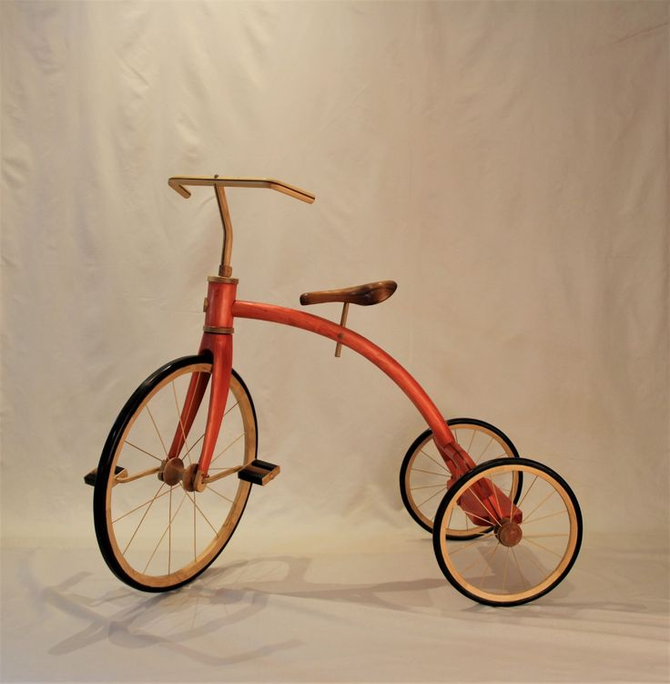 My Brother Had A Big Red Trike Sculpture by John Abery Sculptor