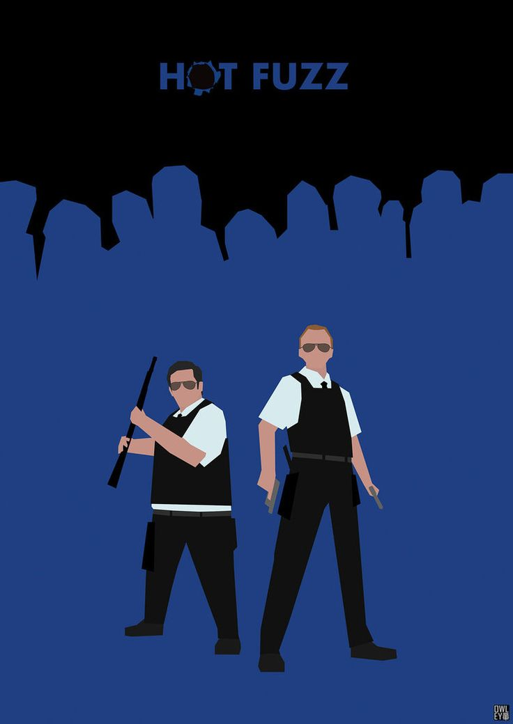 Hot Fuzz - movie poster - HerrOwley.deviantart.com