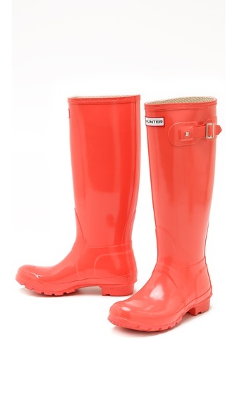 Hunter Boots  Something to dream about for cold went Melbourne winter - Maybe in black or green?