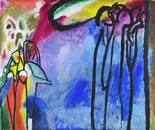 Improvisation 19, 1911 Wassily Kandinsky