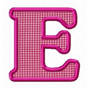 23 Best images about Appliqué Monogram or alphabet on ...