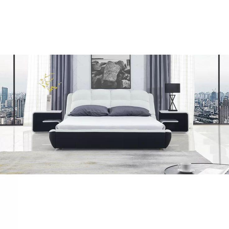 Meulaboh Upholstered Platform Bed, Queen Upholstered Platform Bed Frame With Legs Jubilee Mattress